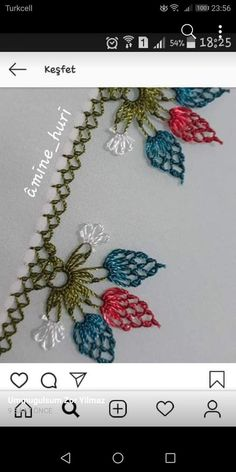 İğne oyalari Beaded Flowers, Crochet Flowers, Crochet Snowflakes, Lace Making, Crochet For Beginners, Knitted Shawls, Diy Crochet, Hand Embroidery, Needlework