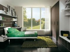 Contrasting Teen Rooms From Sangiorgio