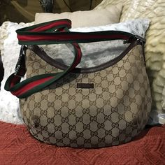 gucci used. Authentic Gucci Cross Body Bag Used D