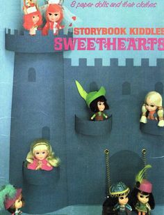 liddle kiddles paper dolls - storybook sweethearts. one of my favorite sets.