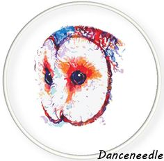 Instant Download,Free shipping,Counted Cross stitch pattern,Cross-Stitch PDF,watercolor bird,owl love you,zxxc0978
