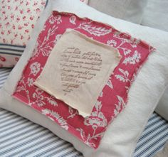 PaRiS French Toile Cottage Shabby Chic HeaRT