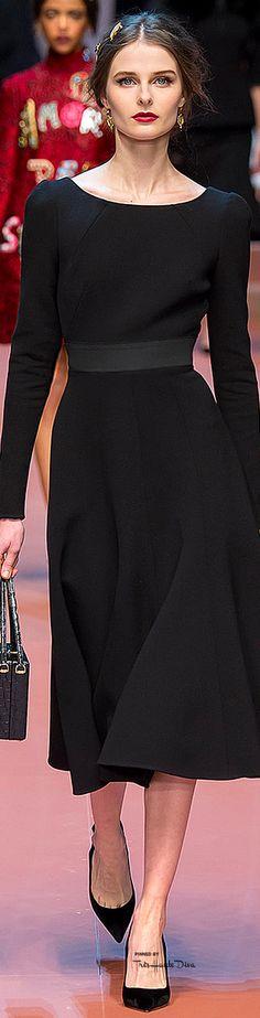 #MFW Dolce & Gabbana Fall 2015 RTW ♔THD♔. Just...Classy!! -Penny-
