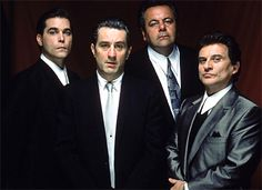 Henry Hill,Jimmy Conway,Paul Cicero, and Tommy Devito
