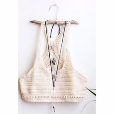 Ecote Austin Crochet Bra Top - Urban Outfitters