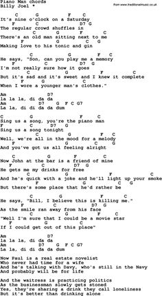 Love Song Lyrics for: Piano Man-Billy Joel with chords for Ukulele, Guitar Banjo etc.The post Love Song Lyrics for: Piano Man-Billy Joel with chords for Ukulele, Guitar Banjo etc appeared first on Ukulele Music Info. Guitar Chords And Lyrics, Guitar Chords For Songs, Guitar Sheet Music, Easy Ukulele Songs, Guitar Tabs, Acoustic Guitar, Easy Piano Songs, Gitarrenakkorde Songs, Love Songs Lyrics