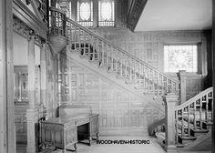 Interior of Alfred Uihlein mansion milwaukee