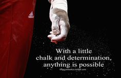 With a little chalk and determination, anything is possible.