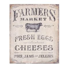 Farmer's Market Wall Plaque | Kirkland's