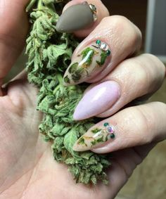 You Can Now Put Weed in Your Nails