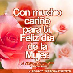 Happy Woman Day, Happy Women, Ladies Day, Margarita, Artwork, Gifs, Amor, Happy International Women's Day, Work Of Art