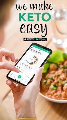 Keto Recipes Dinner Easy, No Carb Recipes, Milk Recipes, Keto Dinner, Ketogenic Diet For Beginners, Keto For Beginners, Keto App, Diet Apps, Diet Snacks