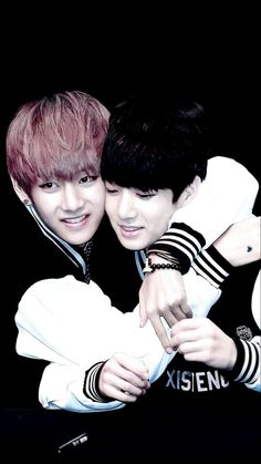 V & Jungkook from BTS