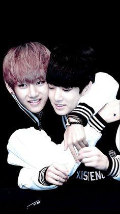 V & Jungkook from BTS