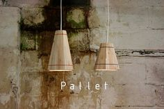 Hand Made Recycled Wooden Pallet Hanging Lamp by FactoryTwentyOne, £44.99