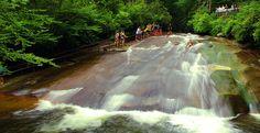 Sliding Rock, Ashville, NC ONLY $2 per person!