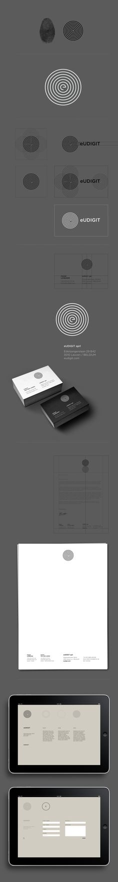 eUDIGIT by olivier rensonnet, via Behance