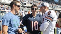 tazer and sharpie with jay cutler....bear down.