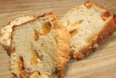 Grilled Peach Pound Cake