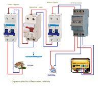 Esquemas eléctricos: Esquema eléctrico generador vivienda