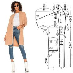 FREE PATTERN ALERT: Pants and Skirts Sewing Tutorials - On the Cutting Floor: Printable pdf sewing patterns and tutorials for women Sewing Coat, Sewing Clothes, Diy Clothes, Coat Patterns, Dress Sewing Patterns, Clothing Patterns, Fashion Sewing, Diy Fashion, Costura Fashion
