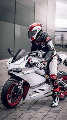- Ducati Motor Holding S. Custom Bike Helmets, Cool Motorcycle Helmets, Motorcycle Suit, Futuristic Motorcycle, Cool Motorcycles, Triumph Motorcycles, Kids Motorcycle, Custom Sport Bikes, Kawasaki Motorcycles