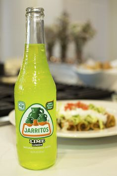 | | Jarritos Lime with Flautas | | Flautas, Mexican Food, Mexican Dishes, Jarritos, Soft Drink, Mexican Soda, Fruit Flavored Soda, Glass Bottle, Iconic Beverage,  Soda Mixer, Soda in a Glass Bottle, Real Sugar, Cane Sugar, Made in Mexico, Mexico, Mexican, Natural Flavor Soda, 100 percent natural sugar, Mexican food, cocktail recipes, Mexican, Naturally Flavored, Bright, Colored Soda, Fun Soda, Colorful Sodas, Iconic Mexican Soda.