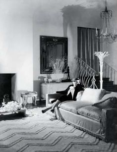 Syrie Maugham at home