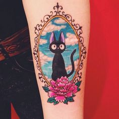 Ghibli Tattoos @ghiblitattoos So so cute #jiji ...Instagram photo | Websta (Webstagram)