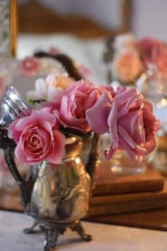 .pink roses