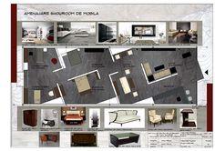 Furniture showroom on Behance
