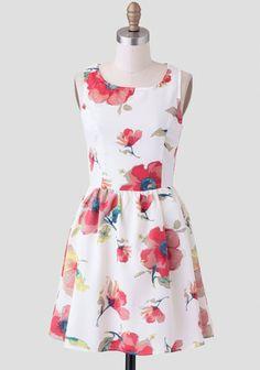 Tranquil Rhythm Floral Dress | Modern Vintage New Arrivals Poppy Dress!
