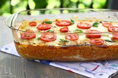 Mozzarella, Baked Potato, Good Food, Cooking Recipes, Potatoes, Tasty, Baking, Ethnic Recipes, Salads