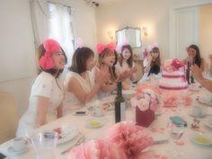 #Baby shower #Girl #Pink #Ribbon