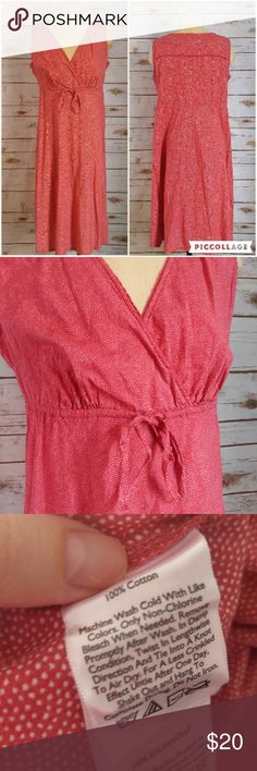 Eddie Bauer Pink Polka Dot V Neck Cotton Dress Eddie Bauer Pink Polka Dot V Neck Cotton Dress Size 6 in great used condition. Please feel free to ask any questions or bundle with other listings in my closet for a custom discount on your order. I ship the same day as long as the order is placed before 11:00 AM Central time. If you would like to be notified about price drops remember to 'like' the item to bookmark it! Thank you for checking out my closet and happy poshing!! Eddie Bauer Dresses…