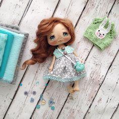 Добрый день! Куколка готова;) завтра в 12.00 приглашаю на аукцион) #кукла #куклы…