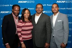 The Chambers Group's Chris Chambers, ASCAP's Nicole George-Middleton, Sweeny, Johnson & Scares, LLP's Matthew J. Middleton, Esq. and ICM Partners' Robert Gibbs