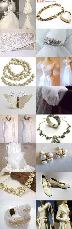 ❤ ❤ ❤ Classic Vintage Wedding ❤ ❤ ❤  by Dorota and Monika on Etsy--Pinned+with+TreasuryPin.com