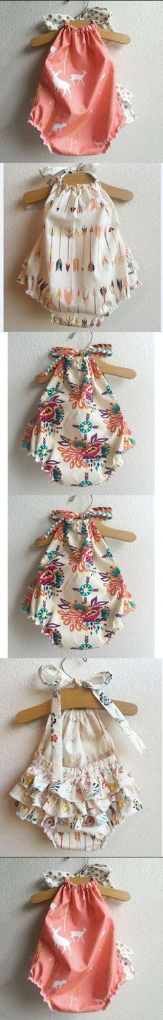 2016 new baby rompers pink christmas deer printed jumpsuit summer vintage floral baby girls clothes boutique baby clothes $12.35