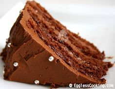 Special occasions call for a special treat and this chocolate layer cake should be it. I bet you would wonder why do we need eggs to bake a delicious and decadent cake once you try this recipe.