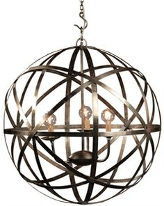 Picture of Globe Chandelier