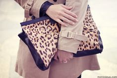 Leopard clutch #FallAccessories