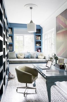 Home Tour: Calming Blues in Cape Town