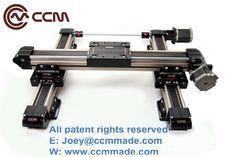 Belt driven motorized customized length linear rail CNC lathe machine