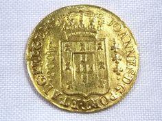Moeda de ouro Brasil Colônia RARA - 4000 Réis - 1815 Rio - confira as fotos