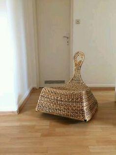 die besten 25 schaukelstuhl rattan ideen auf pinterest rattan schaukelstuhl schaukelstuhl. Black Bedroom Furniture Sets. Home Design Ideas