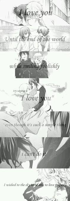 Shion & Nezumi <3 #manga #anime #No_6 #relation #quote