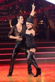 Dancing With The Stars Season 15 Fall 2012 Gilles Marini and Peta Murgatroyd Cha Cha Cha