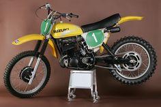 Roger De Coster Suzuki RH 250 cc. 1975/76