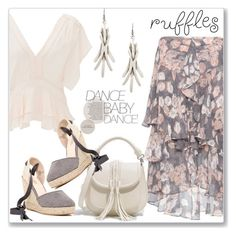 """""""All Ruffled Up"""" by andrejae ❤ liked on Polyvore featuring Rebecca Taylor, Jason Wu, CHARLES & KEITH, Catherine Catherine Malandrino and ruffles"""